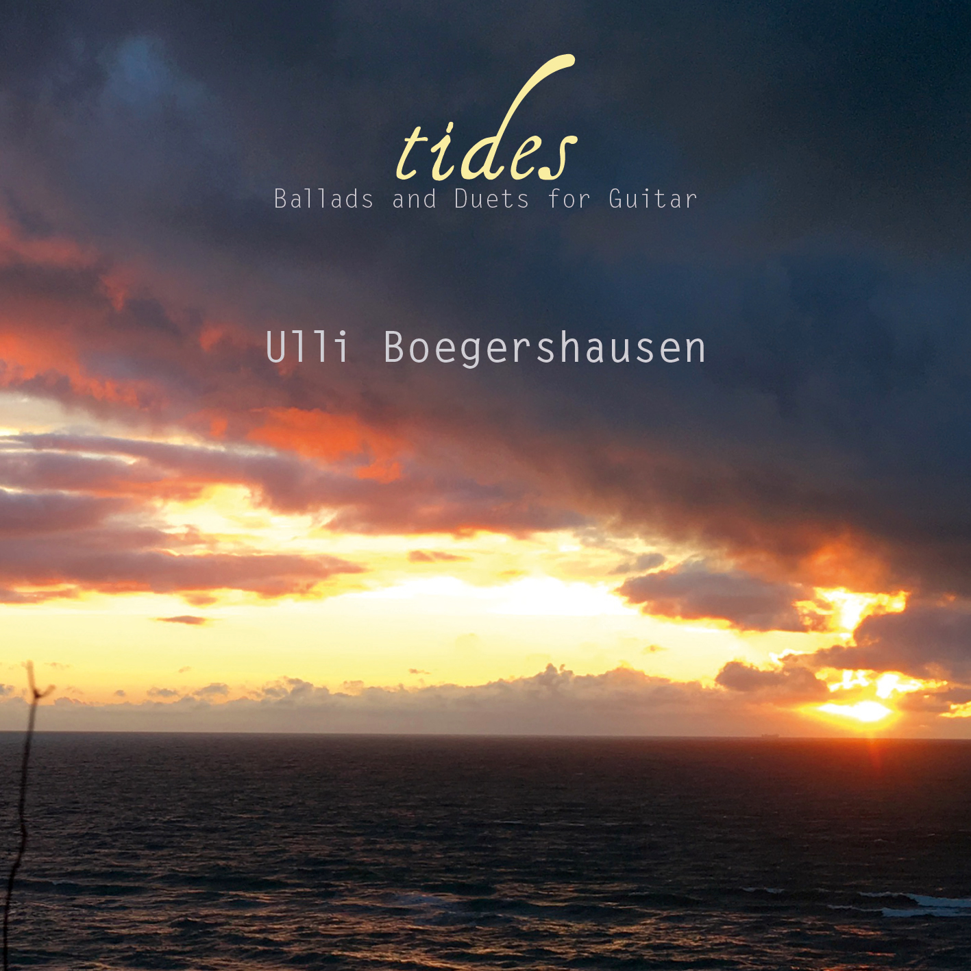 "Cover Ulli Boegershausen ""Tides"""